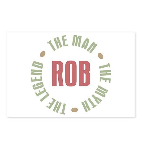 Rob Man Myth Legend Postcards (Package of 8)
