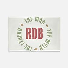 Rob Man Myth Legend Rectangle Magnet