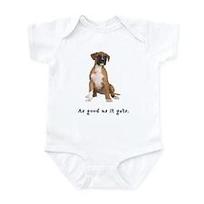 Good Boxer Puppy Infant Bodysuit