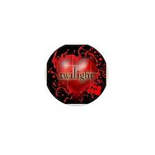 Twilight Blood Heart Mini Button (10 pack)