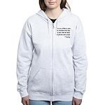 Thomas Jefferson 18 Women's Zip Hoodie