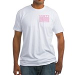 Misty Name Priceless Bar Code Fitted T-Shirt