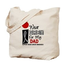 I Wear Grey For My Dad 9 Tote Bag