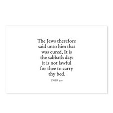 JOHN  5:10 Postcards (Package of 8)