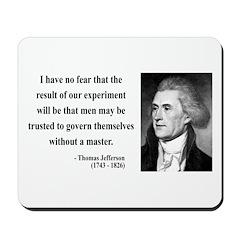 Thomas Jefferson 19 Mousepad