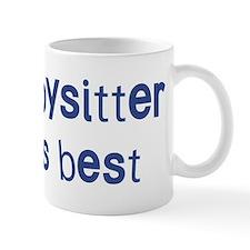 Babysitter knows best Mug