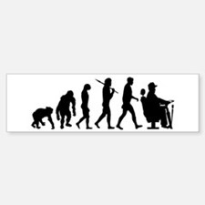 Driver Evolution Bumper Bumper Sticker