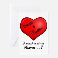 Dean & Castiel Greeting Cards (Pk of 10)