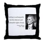 Thomas Jefferson 20 Throw Pillow