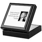 Thomas Jefferson 20 Keepsake Box