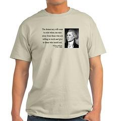 Thomas Jefferson 3 T-Shirt