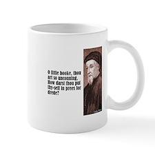 "Chaucer ""Little Booke"" Mug"