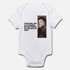 "Chaucer ""Little Booke"" Infant Bodysuit"