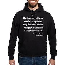 Thomas Jefferson 3 Hoodie