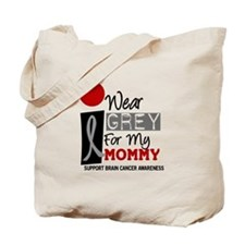 I Wear Grey For My Mommy 9 Tote Bag
