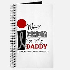 I Wear Grey For My Daddy 9 Journal