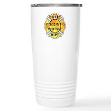 Firefighters Girlfriend Travel Mug
