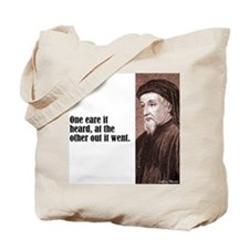 "Chaucer ""One Eare"" Tote Bag"