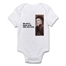 """Chaucer """"One Eare"""" Infant Bodysuit"""