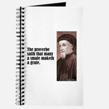 "Chaucer ""Proverbe"" Journal"
