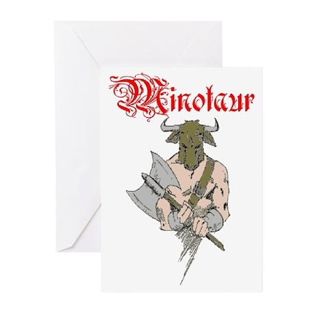 Minotaur Greeting Cards (Pk of 10)