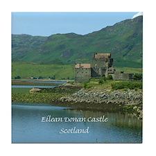 Scottish Castle Tile Coaster