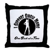 Pole Dancer Throw Pillow