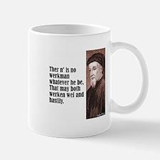 """Chaucer """"Werkman"""" Mug"""
