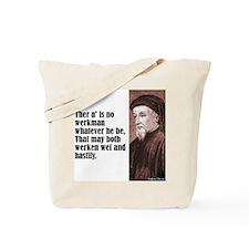 """Chaucer """"Werkman"""" Tote Bag"""