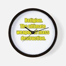 religion Wall Clock