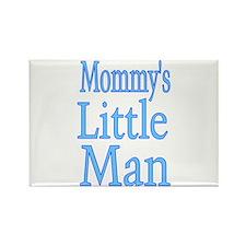 Mommy's Little Man Rectangle Magnet