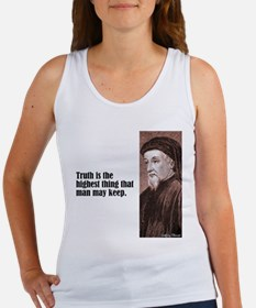 "Chaucer ""Truth"" Women's Tank Top"