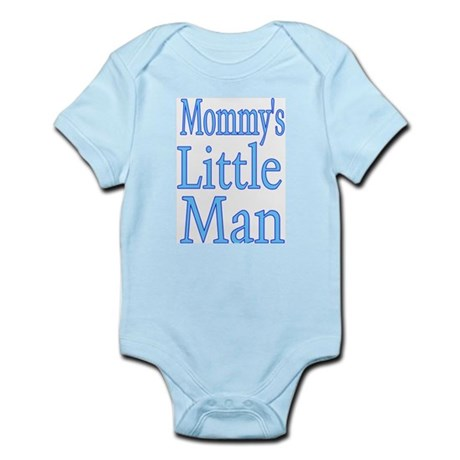Mommy's Little Man Infant Bodysuit