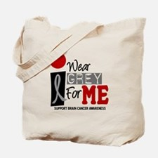I Wear Grey For Me 9 Tote Bag