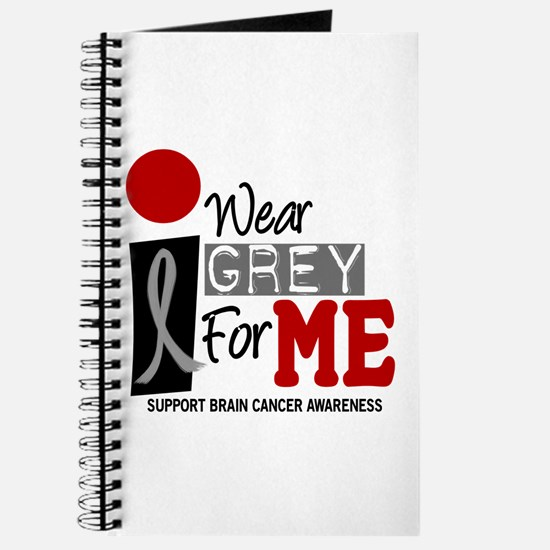 I Wear Grey For Me 9 Journal
