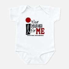 I Wear Grey For Me 9 Infant Bodysuit