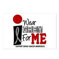 I Wear Grey For Me 9 Postcards (Package of 8)
