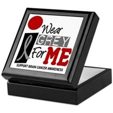 I Wear Grey For Me 9 Keepsake Box