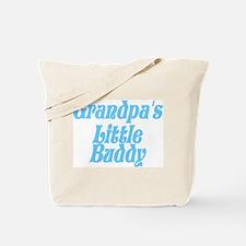 Grandpa's Little Buddy Tote Bag