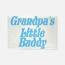 Grandpa's Little Buddy Rectangle Magnet