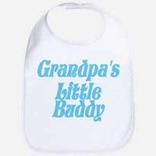 Grandpa's Little Buddy Bib
