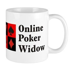 Online Poker Widow Mug