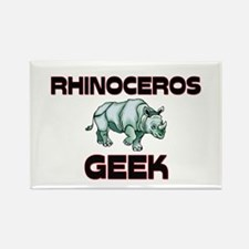 Rhino Geek Rectangle Magnet
