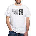 Thomas Jefferson 25 White T-Shirt