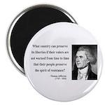 Thomas Jefferson 25 Magnet
