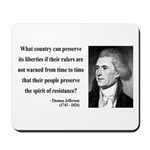 Thomas Jefferson 25 Mousepad