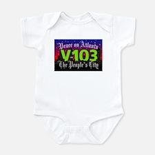 Peace on Atlanta Infant Bodysuit