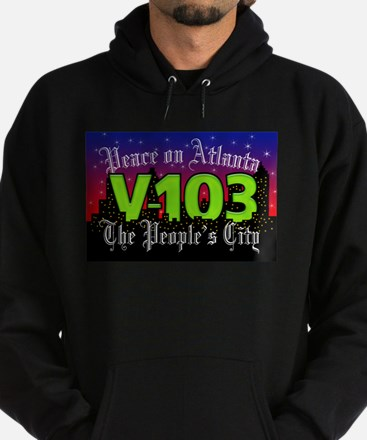 Peace on Atlanta Hoodie (dark)