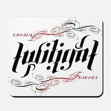 Twilight Forever Ambigram Mousepad