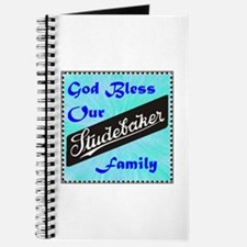 """God Bless Our Stude Family"" Journal"